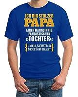 Geschenk für Vater - Ich Bin Stolzer Papa Einer Fantastischen Tochter T-Shirt