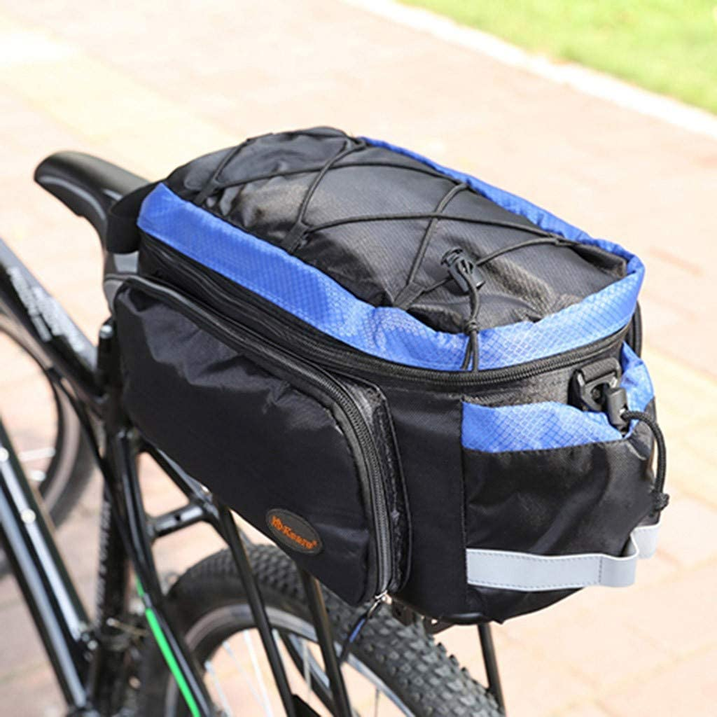 Bicycle Bike Rear Rack Bag Removable Carry Carrier Saddle Bag Cycling Rack Pack