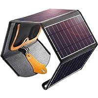 Cargador de Panel Solar, 22W Doble USB portátil Panel Solar Cargador de teléfono Inteligente, Resistente al Agua para…