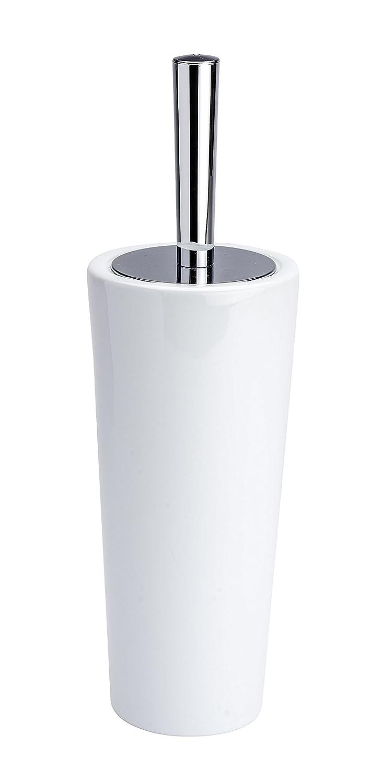 Wenko Coni Escobillero WC, Cerámica, Blanco, 11.5x11.5x275 cm 21687100