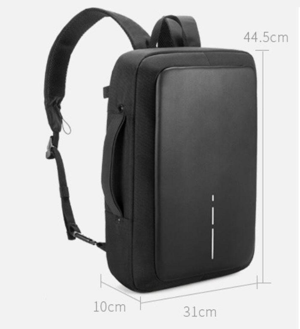 Amazon.com: WWQY Business Laptop Backpack with USB Charging Port,Notebook College Backpack Satchel School Bag Black: Sports & Outdoors