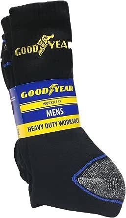 Goodyear Unisex heavy duty work sock arbetsstrumpor 5-pack (10-pack)