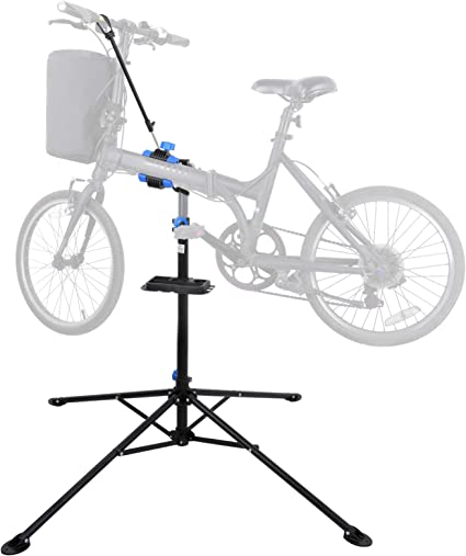 Bike Repair Stand Maintenance Rack Workstand Extensible Bicycle Repair Stand