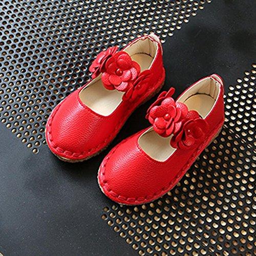... Casual Kinder Schuhe Hunpta Mädchen Baby Girls Sneakers Kids Soft  Single Schuhe Rot ...