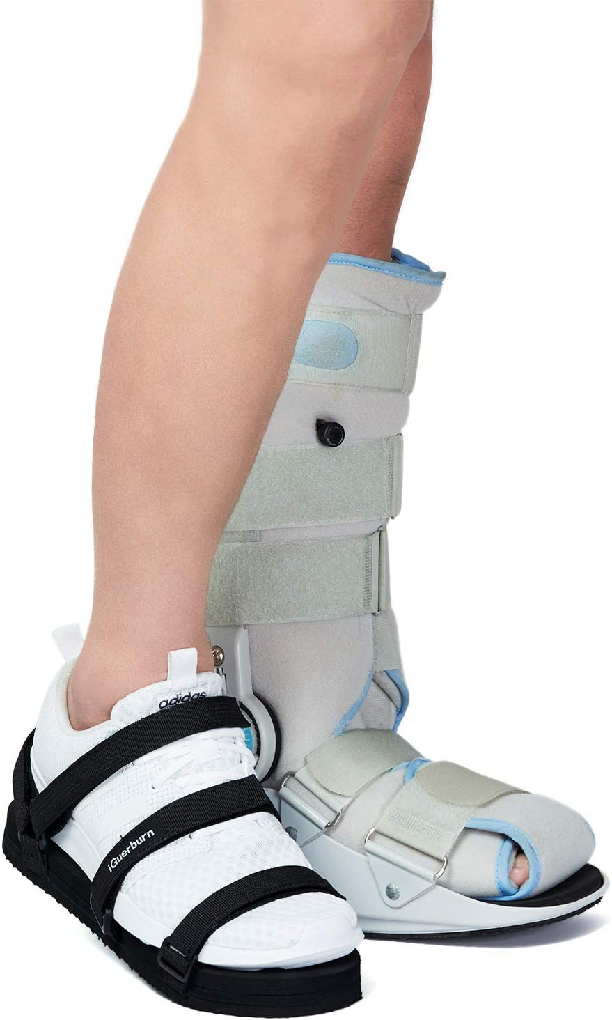 Small Healvaluefit Shoe Leveler Shoe Lift Shoe Balancer for Walking Boot Height Enhancing Shoe