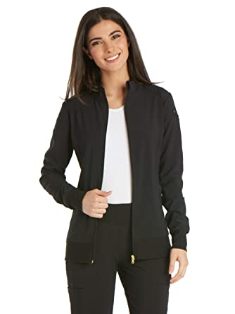 8b2c0227c Cherokee iflex Women's Zip Front Warm-Up Scrub Jacket