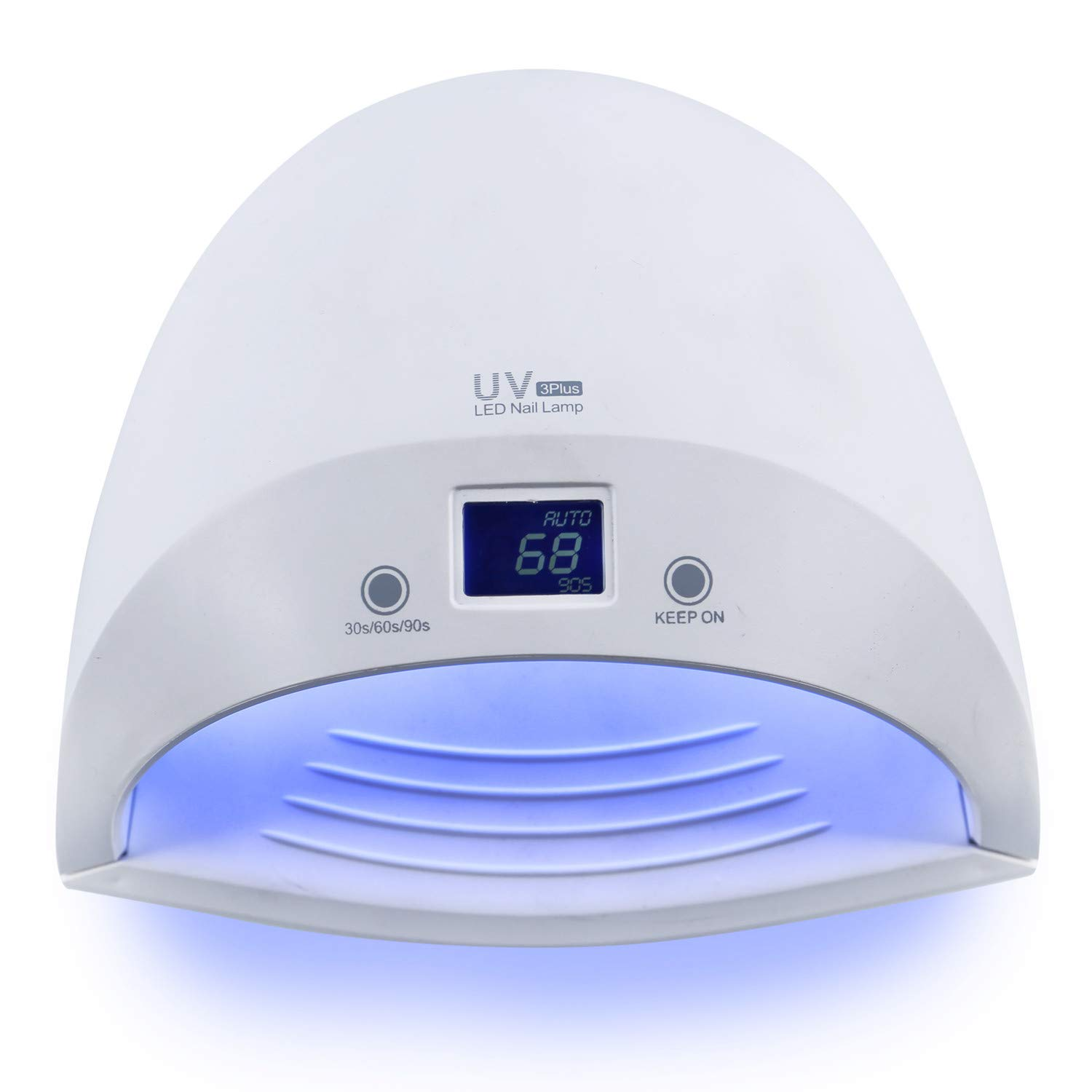 Amazon.com: Lio Battery-60W UV LED Nail Dryer 27pcs Dual Light Curing Lamp for Gel Nails Polish with 30s/60s/90s Timer Auto Sensor Dry & Rechargeable Nail ...