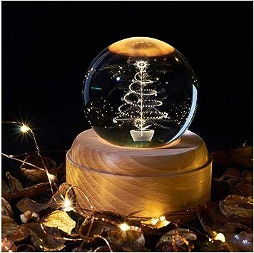 CBA BING Navidad Luces del proyector Música, Bola de Cristal de la ...