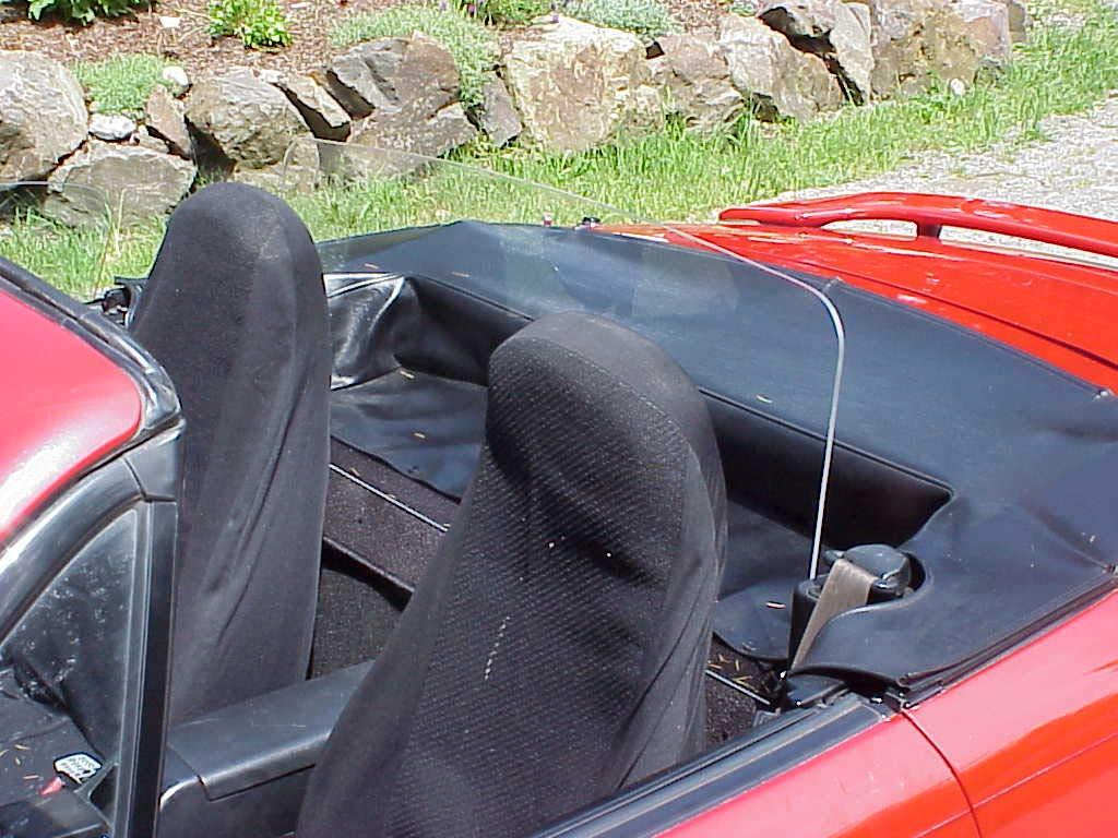#1 Ranked Mazda Miata Windscreen Wind Deflector Windblocker, 1990-1997
