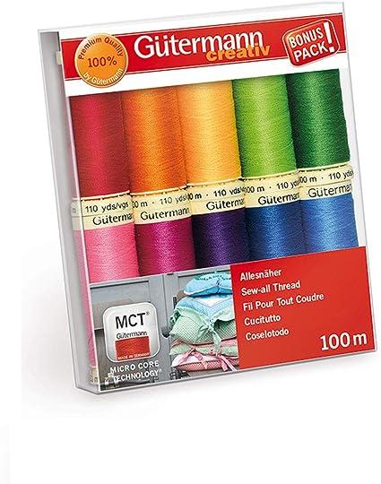Gutermann 100 M Coudre-All Polyester Fil à coudre-couleur 40