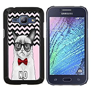 Dragon Case - FOR Samsung Galaxy J1 J100 J100H - A beautiful lies just - Caja protectora de pl??stico duro de la cubierta Dise?¡Ào Slim Fit
