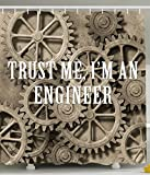 trust me im engineer - Industrial Decor Trust Me I'm an Engineer Novelty Fun Design Funny Quote Engineering Modern Bathroom Decorative Ideas Home Job Jokes About Professions Polyester Fabric Shower Curtain Taupe Camel