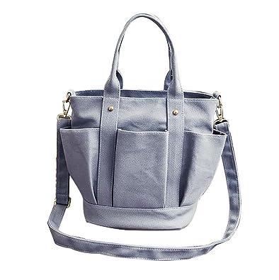 fashion Foreign Trade Women Bag Lantern Type Duogon Canvas Bbag Handbag Tote Bag mini Crossbody bolsos