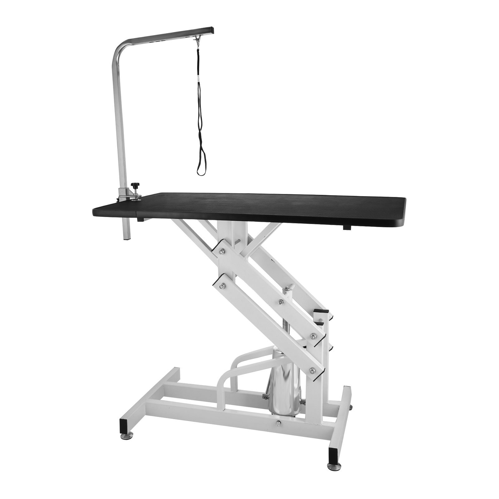VEVOR 42.5 X 23.6 Inch Dog Grooming Table Z-Lift Hydraulic Grooming Table 330Lbs Weight Capacity Height Adjustable Pet Grooming Table with Adjustable Arm and Noose (Pet Hydraulic Table) by VEVOR