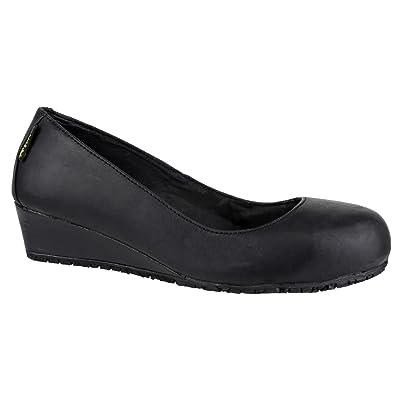 Amblers Safety FS107 - Chaussures de sécurité - Femme (36 EU) (Noir)