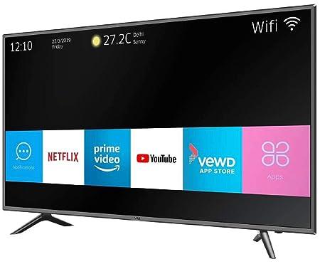 VU 138 cm (55 inches) Pixelight 4K HDR Smart LED TV 55QDV (Black) (2019  Model)