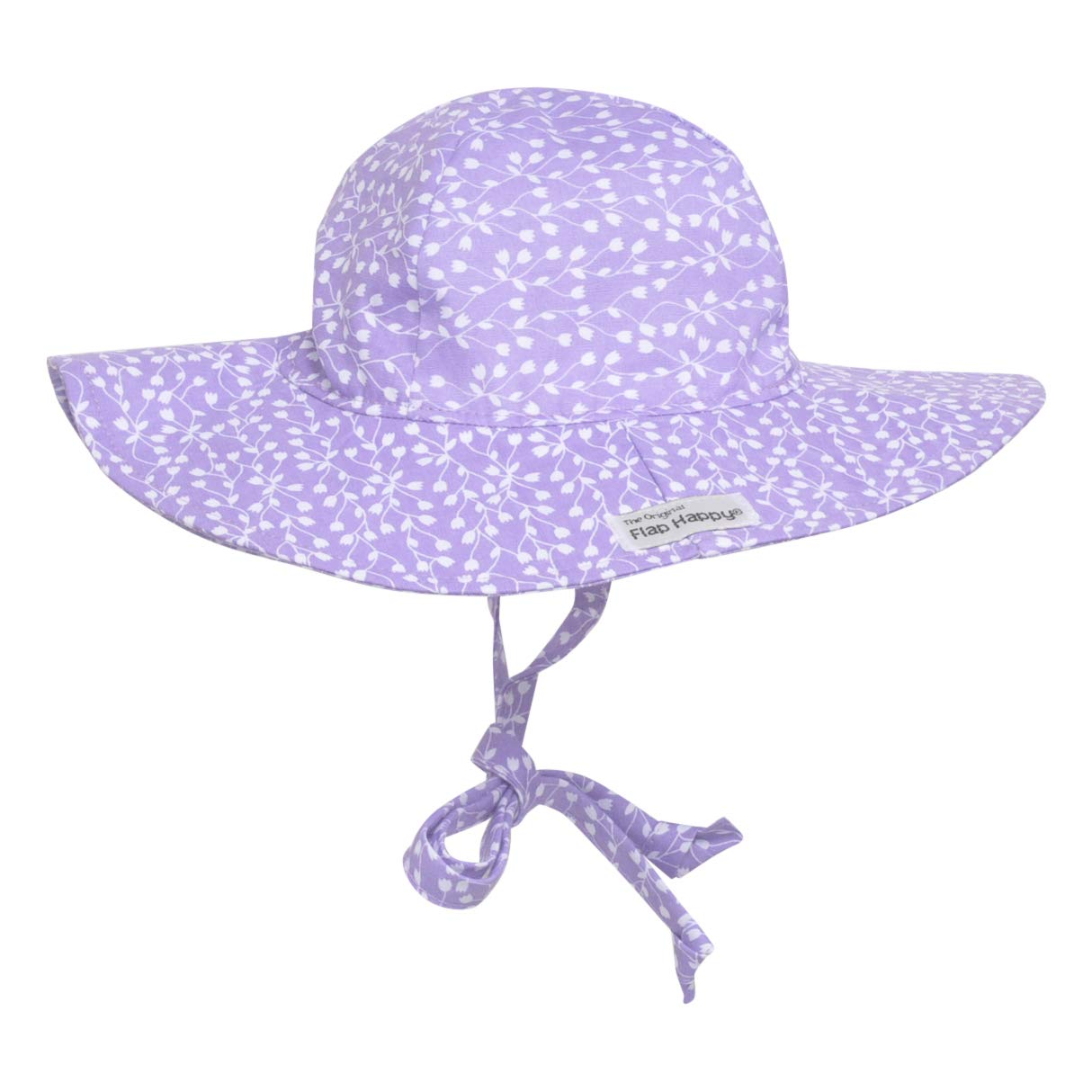 UPF 50 Twirly Tulips X-Large Floppy Hat