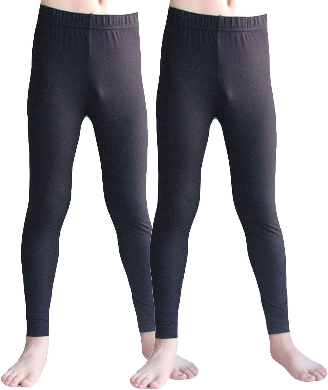 LAPASA Kid/'s Thermals Underwear Set Boy/'s Thermals Girls Thermal Winter Warm Inner Fleece Underwear Lightweight Skin Base Layer Bottom/&Tops B03A2,G03A2