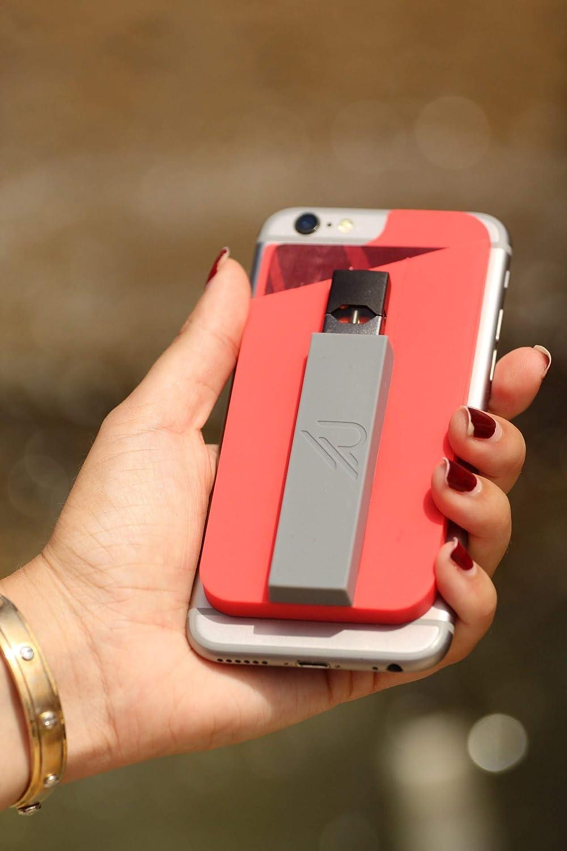 RipGrip (Jet Black, 1 Unit Premium JUUL Holder - Accessories, Phone Case,  and Sleeve