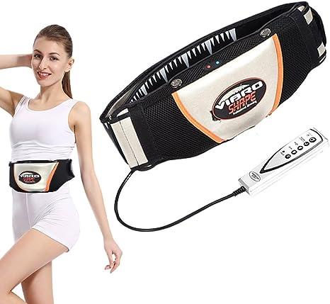 kekafu 9PCS Unisex Vibration Fitness Massager Muscle Stimulator Trainer Abdominal Training Electric Loss Sticker Body Slimming Belt