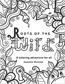 amazon roots of the wild coloring book 9780996847919 HO Scale Restaurant Tables amazon roots of the wild coloring book 9780996847919 jeanette wummel books