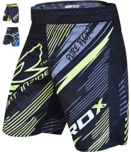 RDX Training Clothing UFC Cage MMA Shorts Fighting Grappling Martial Arts Muay Thai Kickboxing – DiZiSports Store