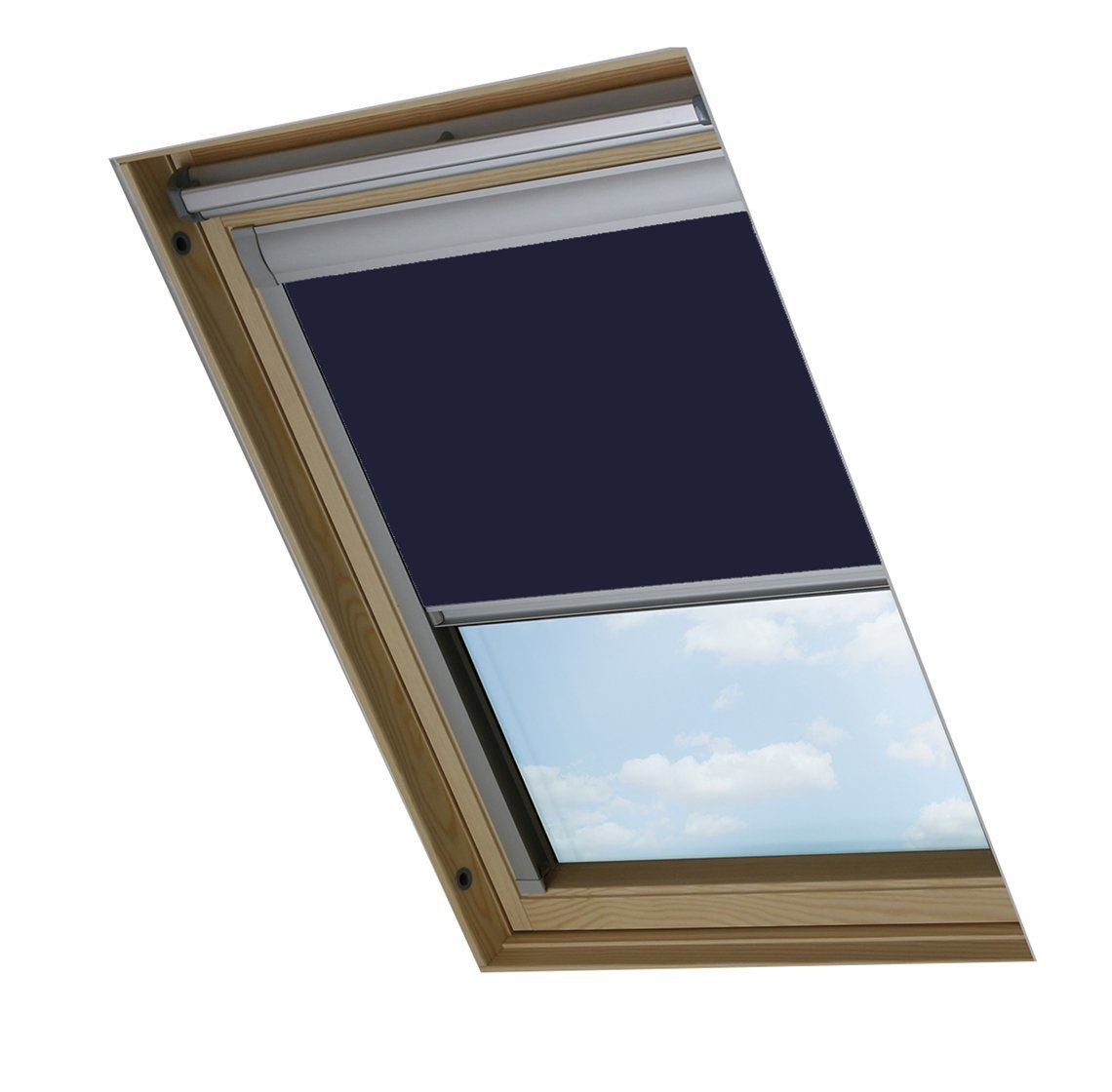Bloc Skylight Store M4a pour Dakstra fenêtres de Toit BlockOut, Bleu Marine Bloc Blinds M4A