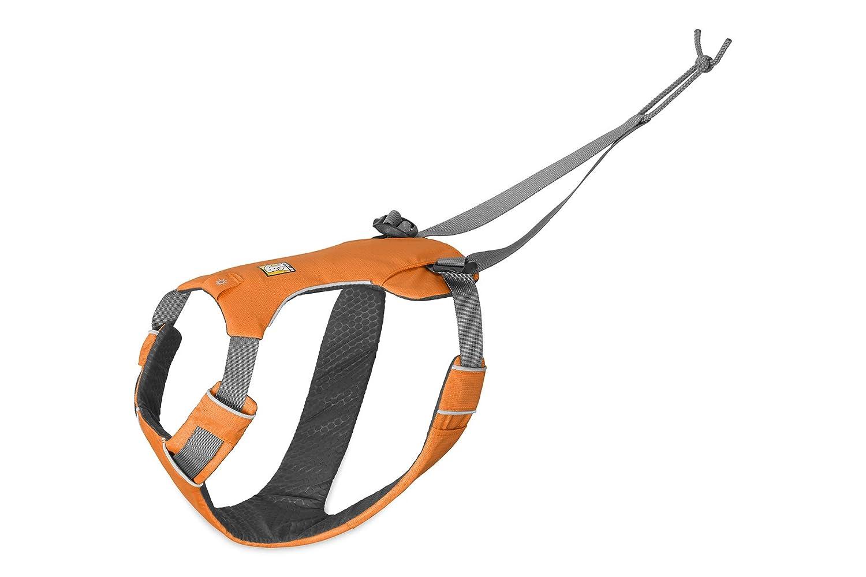 Medium RUFFWEAR Omnijore Dog Harness for Joring, Running, and Hiking, orange Poppy, Medium