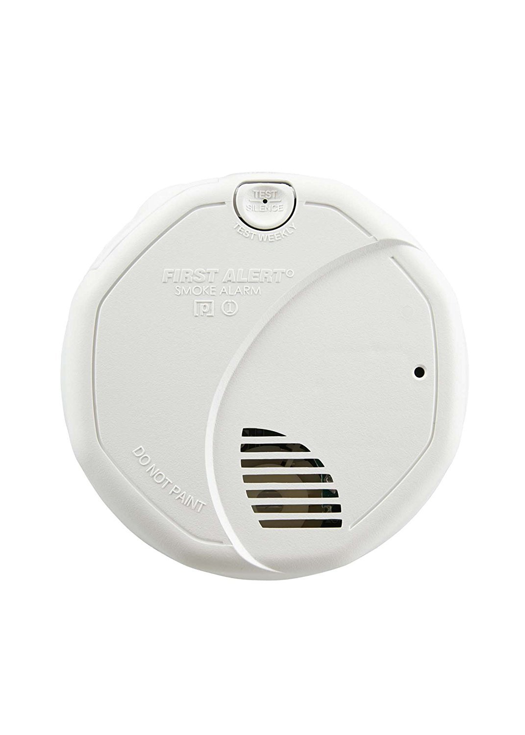 First Alert BRK 3120B-6 Hardwired Photoelectric and Ionization Smoke Alarm with Battery Backup, 6 Pack