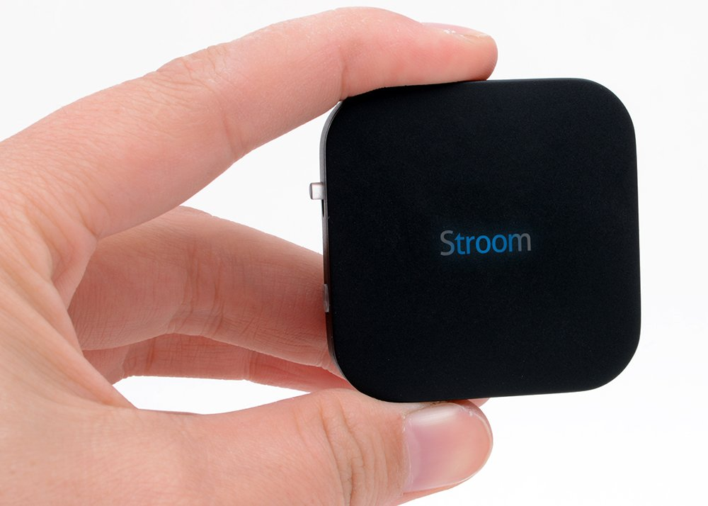 STROOM by Teknub - Wireless 2-in-1 transmitter and receiver box with CSR aptX chipset to replicate high CD-quality audio streaming