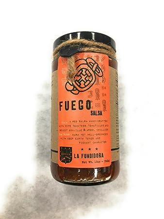 LA FUNDIDORA Salsa Fuego, 12 OZ