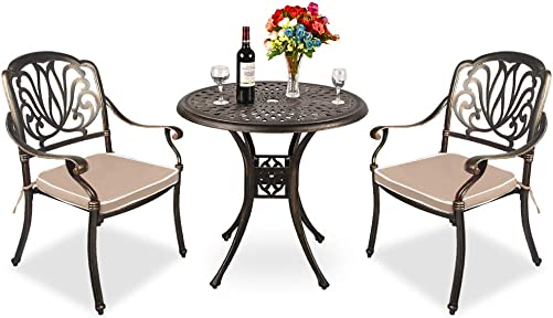 TITIMO 3 Piece Outdoor Furniture Dining Set