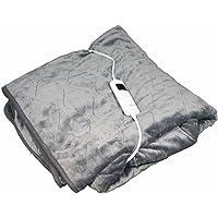 Mesa Living Couverture chauffante électrique| Noir | |Ultra Douce et Confortable | 180 cm x 130 cm