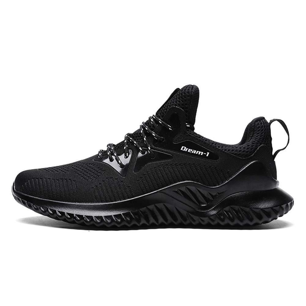 TALLA 44 EU. Zapatillas de Deporte Hombre Zapatos para Correr Athletic Cordones Zapatillas De Running Trail Tenis Basket Sneakers Respirable Bambas Hombre