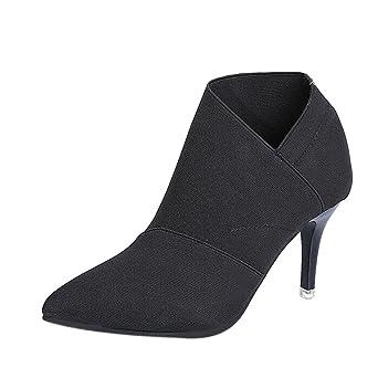 brand new 552d2 625e3 Stiefel Damen Kolylong® Frauen Elegant Stiefeletten mit ...