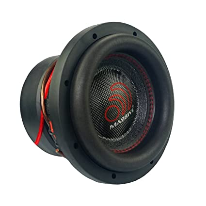 Massive Audio HippoXL84-8 Inch Car Audio 1400 Watt Hippo Series Competition Subwoofer, Dual