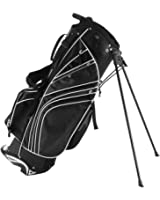 Tangkula Golf Stand Bag w/6 Way Divider Carry Organizer Pockets Storage