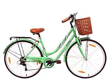 Tiger Vintage - Bicicleta estilo patrimonio para mujer, color ...