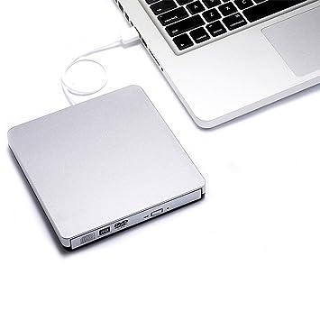 Unidad de DVD externa smallcar USB 2.0 Slim grabadora de CD/DVD RW unidad grabadora