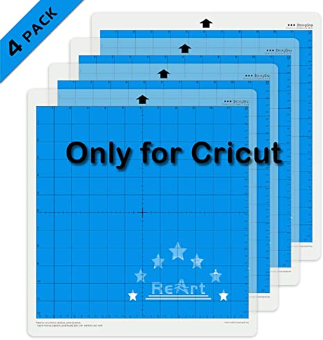 "Cricut Cutting Mats 12/"" x 12/"" Strong Grip Adhesive Cutting Mat 12x12 Strong"