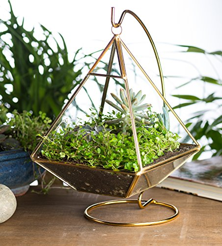 KooK-Geometric-Pyramid-Hanging-Terrarium-With-Stand-Gold