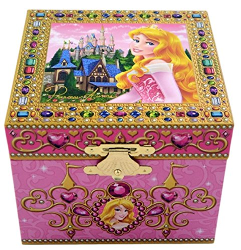 Disney Park Sleeping Beauty Aurora Musical Jewelry Box NEW (Music Box Disney)