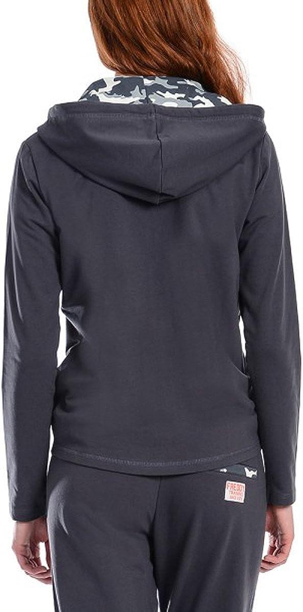 Fredy Sweatshirt aus Baumwolle, Garzato S7WTS1 MainApps Multicolore (Grigio Allover Camouflage)