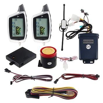 EASYGUARD EM212 - Sistema de Alarma de 2 Vías para ...