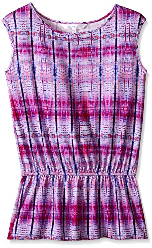 Ella Moss Little Girls Boho Nuevo Tunic, Purple, Medium