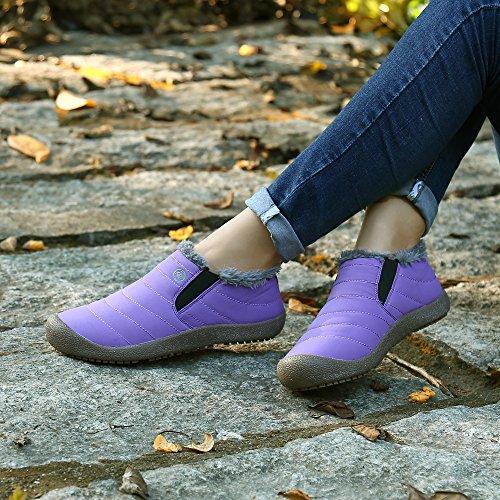 Top Caldo Caviglia Viola Stivali Uomo Invernali Donna Piatto Stivaletti Inverno Boots Outdoor Pastaza Low Oq7CYwRvY