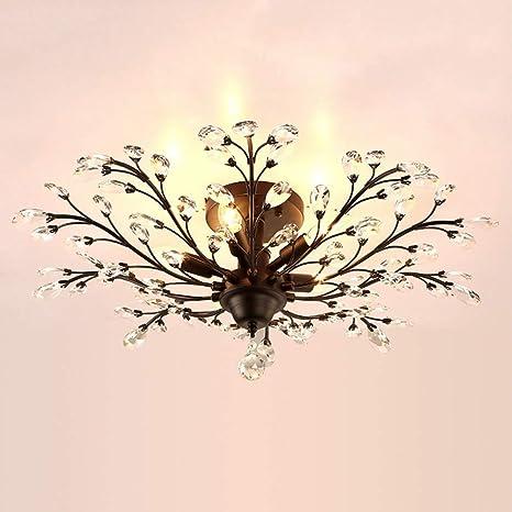 Araña/Ramas de Edison de metal vintage Luz de techo LED ...