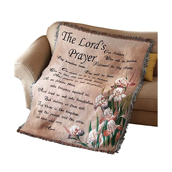 The-Lords-Prayer-Tapestry-Throw-Blanket