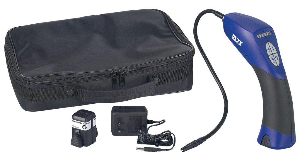 Robinair TIFZX-E Heated Pentode Halogen Leak Detector with Soft Case - 220V-240V International Version