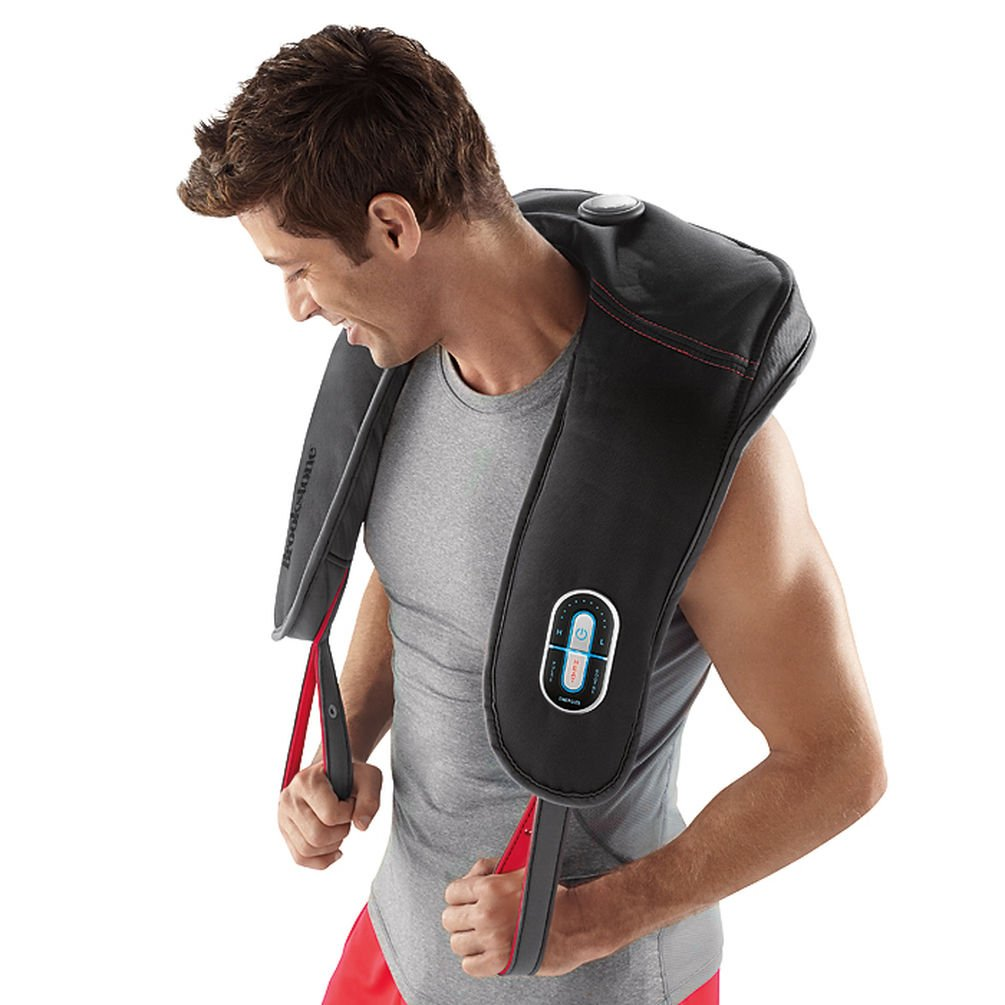 Brookstone Neck Shoulder Sport Massager with Heat